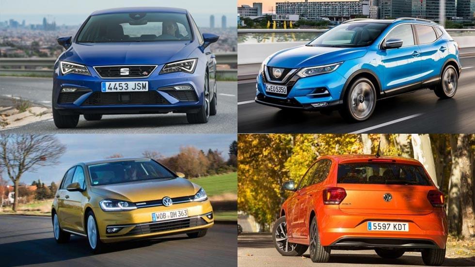 coches mas vendidos en españa 2018