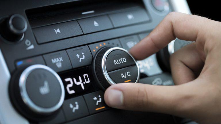 bajar la temperatura del auto