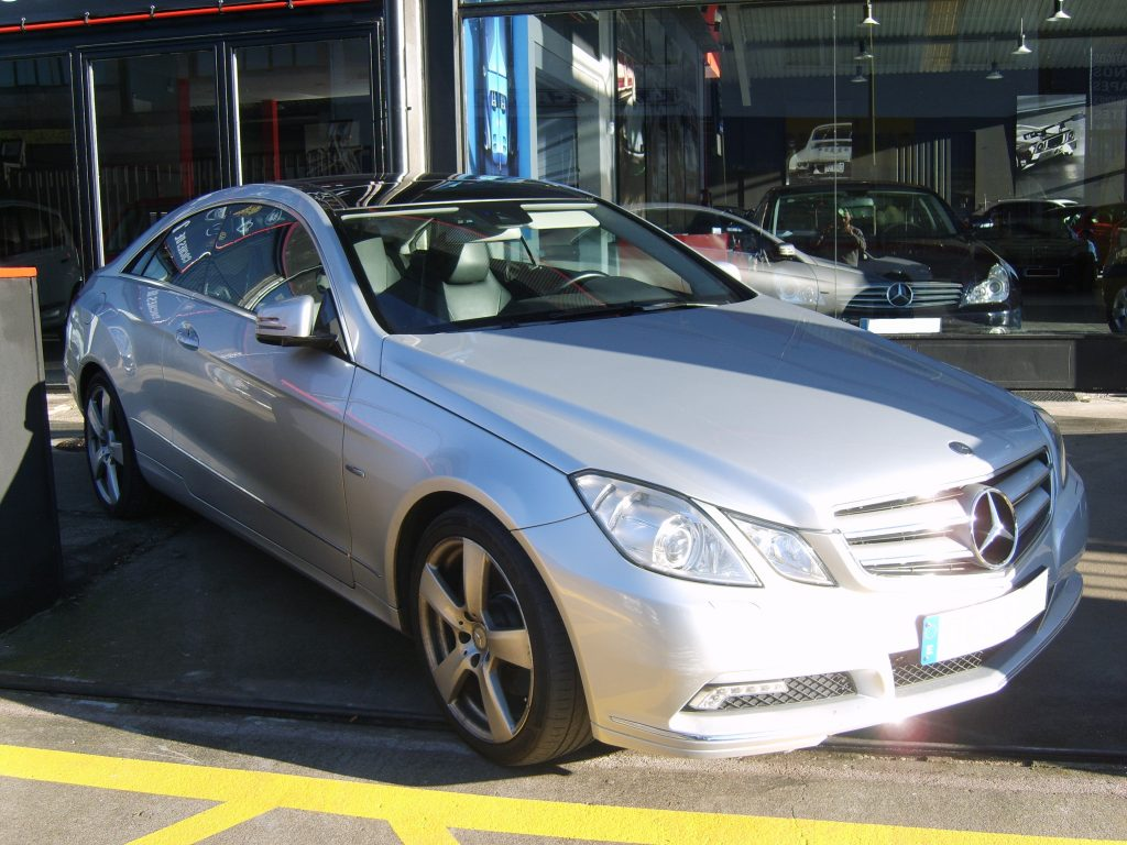 MERCEDES E 250 CDI COUPE